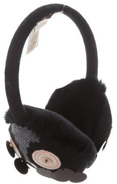Kate Spade New York Night Owl Faux Fur Earmuffs