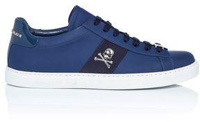 Philipp Plein Welcome Embellished Napa Sneakers