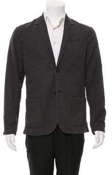 James Perse Wool Two-Button Blazer