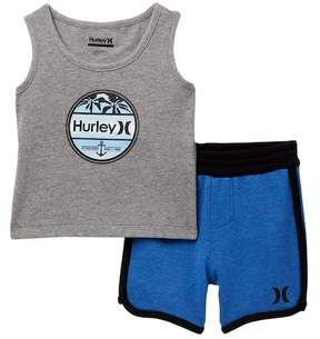 Hurley French Terry Piecing Set (Baby Boys)