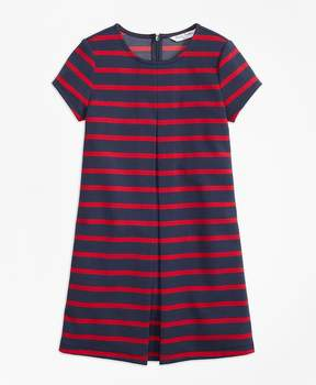 Brooks Brothers Stripe Ponte Dress