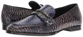 Bottega Veneta Mixed Print Loafer Women's Slip on Shoes