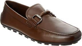 Ermenegildo Zegna Horsebit Leather Loafer