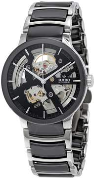 Rado Centrix Black Skeleton Dial Men's Watch