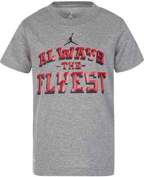 Jordan Flyest-Print T-Shirt, Big Boys