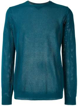 Roberto Collina perforated detail jumper