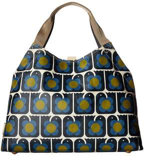 Orla Kiely Love Birds Print Large Holdall Handbags