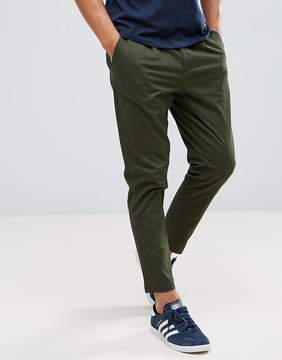 ONLY & SONS Cropped Chino In Tapered Fit