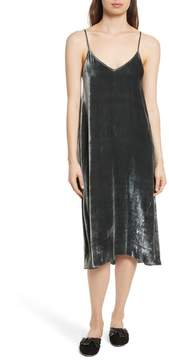 ATM Anthony Thomas Melillo Velvet Slipdress
