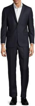 Hickey Freeman Milburn II M Series Classic Fit Pinstripe Wool Suit