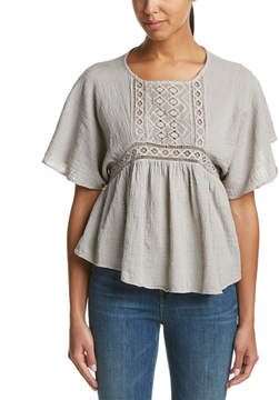 Anama Lace-Trim Top
