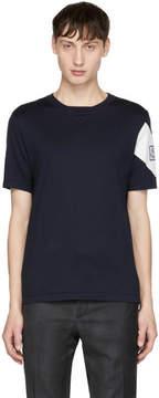 Moncler Gamme Bleu Navy Chevron Logo Sleeve T-Shirt