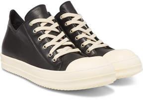 Rick Owens Cap-Toe Leather Sneakers