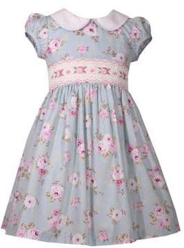 Iris & Ivy Little Girl's Floral Peter Pan Dress