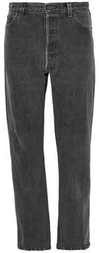 Levi's Re/Done By Faded High-Rise Straight-Leg Jeans