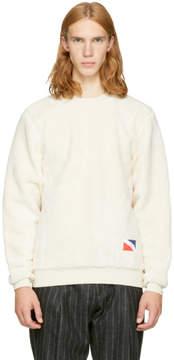 Off-White Noah NYC Teddy Crewneck Sweatshirt
