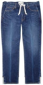 Remi Relief Dark Blue Straight-leg Jeans