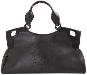 Cartier Marcello Black Leather Handbag