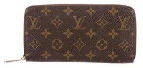 Louis Vuitton Monogram Zippy Wallet - BROWN - STYLE