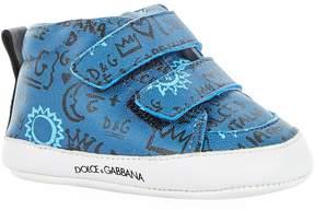 Dolce & Gabbana Doodle Sneaker Booties