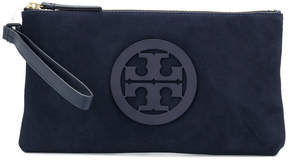 Tory Burch Charlie clutch bag - BLUE - STYLE
