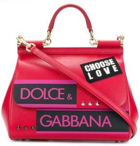 Dolce & Gabbana Sicily Choose Love tote