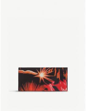 Loewe Fireworks zip-around leather wallet