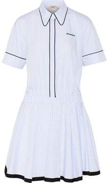 N°21 N° 21 Gingham Cotton Mini Dress