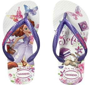 Havaianas Slim Princess Sofia Flip Flops (Toddler/Little Kid/Big Kid)