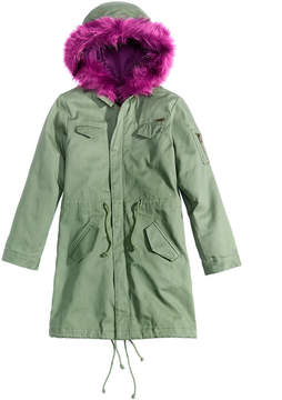 GUESS Hooded Parka, Big Girls (7-16)