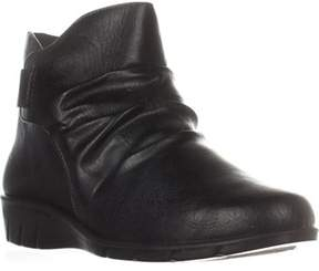 Easy Street Shoes Bounty Comfort Ankle Boots, Black.