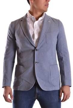 Gant Men's Light Blue Cotton Blazer.