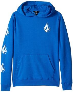 Volcom Supply Stone Pullover Hoodie Boy's Sweatshirt