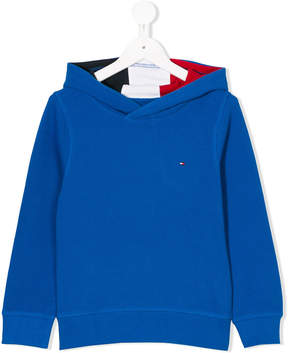 Tommy Hilfiger Junior textured hoodie