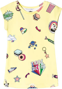 Little Marc Jacobs Yellow Sweetie, Branded and Space Sweat Dress