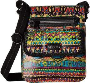 Sakroots Small Flap Messenger Cross Body Handbags