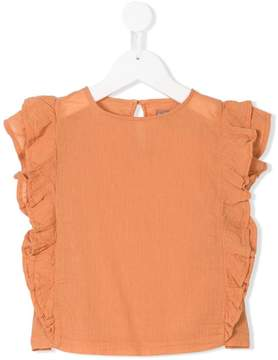 Emile et Ida frill trim top