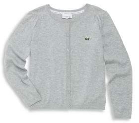 Lacoste Toddler's, Little Girl's & Girl's Cardigan Sweater