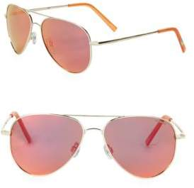 Polaroid 40MM Aviator Sunglasses