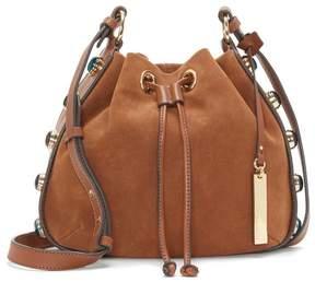 Vince Camuto Cab – Studded-gusset Drawstring Bag