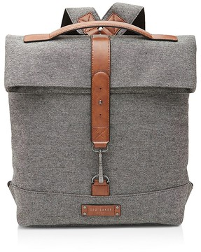 Ted Baker Germyn Canvas Roll Down Rucksack