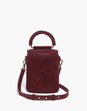Madewell The Holland Binocular Bag in Nubuck Leather