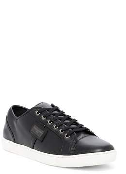 Dolce & Gabbana Solid Lace-Up Sneaker