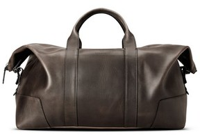 Shinola Men's Madone Leather Carryall Bag - Black