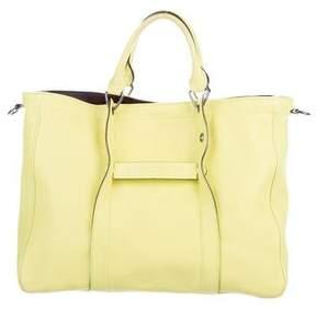 Longchamp 3D Leather Satchel