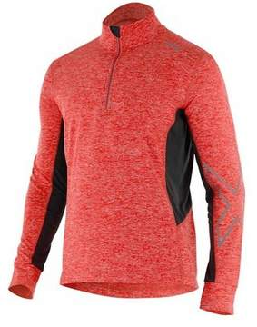 2XU Men's X-VENT 1/4 Zip Long Sleeve Top
