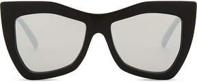 Le Specs Kick it square-frame sunglasses