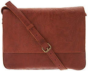 Co American Leather Glove Leather MessengerCrossbody