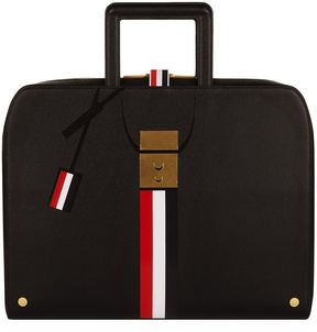 Thom Browne Stripe Briefcase