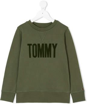 Tommy Hilfiger Junior logo sweater